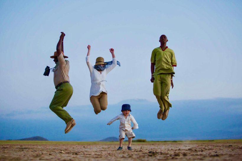 safaris en africa, Safari en familia