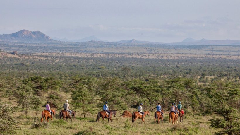 safari a caballo Monte Kenya africae travel