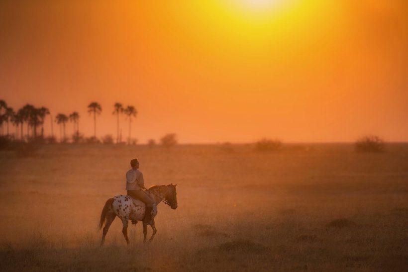 safaris en africa, Botswana a caballo