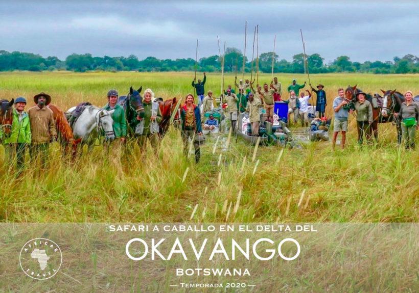 safaris a caballo africae travel, Safari a caballo en okavango. Safaris Salidas 2019 y 2020