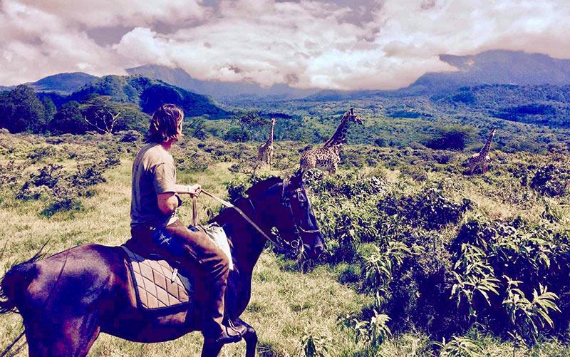 Safari a caballo Kilimanjaro