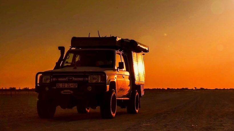 safari independiente en 4x4 en botswana, Rutas independientes 4x4
